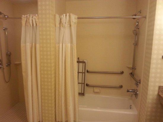 Hilton Garden Inn Fort Myers Airport / FGCU : Accessible Shower