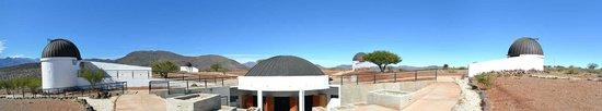 Combarbala, Chile: vista panoramica del las cúpulas.