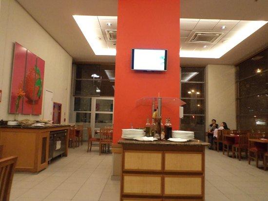 Ibis Santiago Providencia : vista geral do restaurante