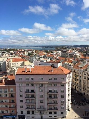 Four Seasons Hotel Ritz Lisbon: photo from suite balconey