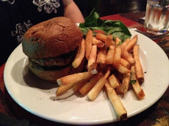 New World Home Cooking: Burger and Fries
