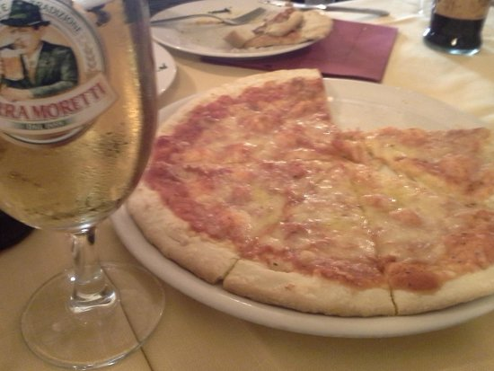 La Trattoria il Bargello : Pizza & Beer  - great anywhere