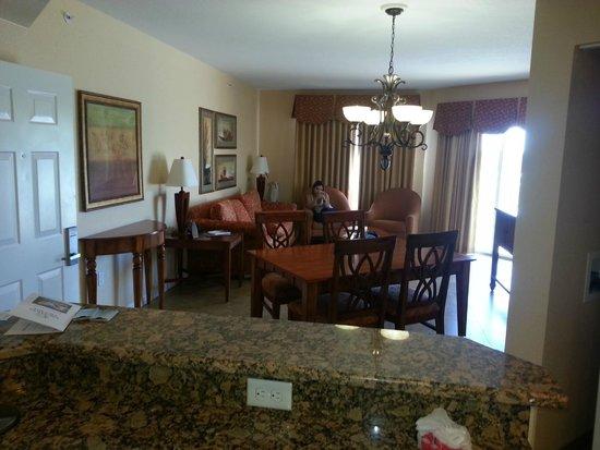 Vacation Village at Parkway: Sala de Jantar e estar