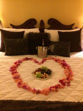 Blue Horizon Boutique Resort: Jeanette's surprise for my girlfriend!