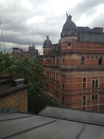 The Z Hotel Soho: View from the room