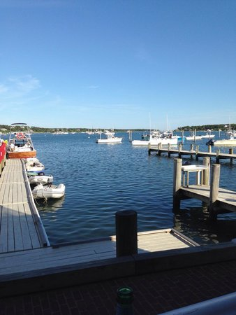Atlantic Fish & Chop House: View from our table