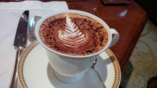 The Savoy: amazing cappuccino