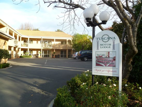 Tuscana Motor Lodge Christchurch New Zealand Motel