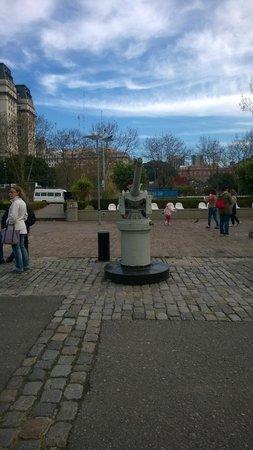 Puerto Madero: Canhão antigo