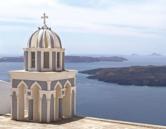 Medhills Travel Day Tours : Firostefani, Santorini, Greece