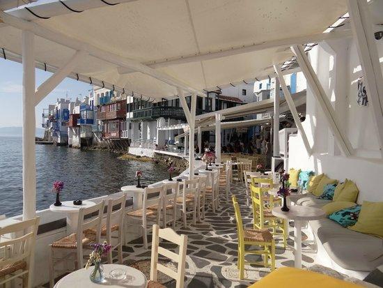 Medhills Travel Day Tours : Little Venice, Mykonos, Greece