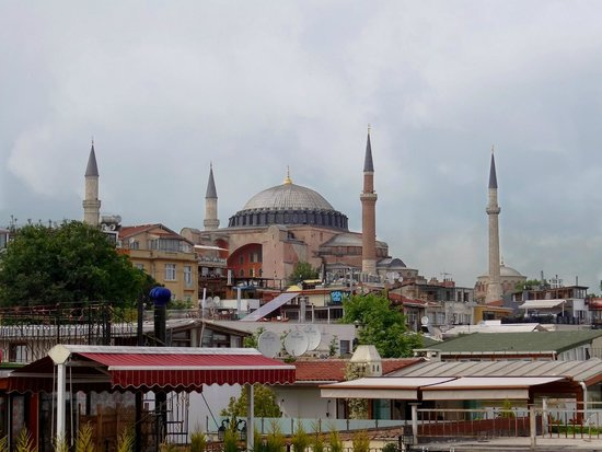 Medhills Travel Day Tours : View from hotel in Istanbul