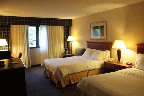 Holiday Inn Express Elmira Horseheads : Ower room.