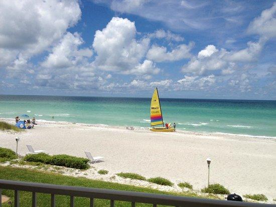 SeaHorse Beach Resort : from 2nd floor balcony