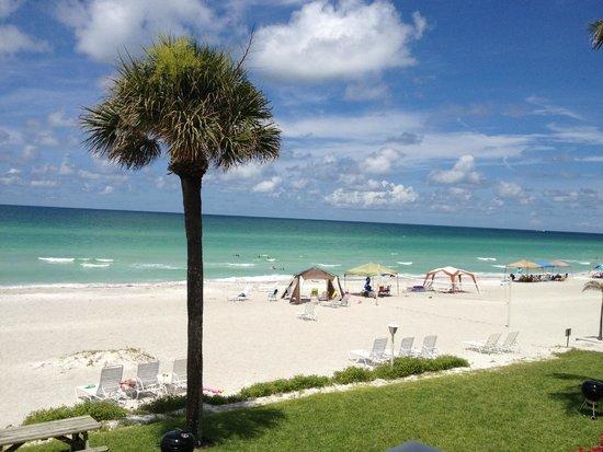 SeaHorse Beach Resort : from balcony looking nw
