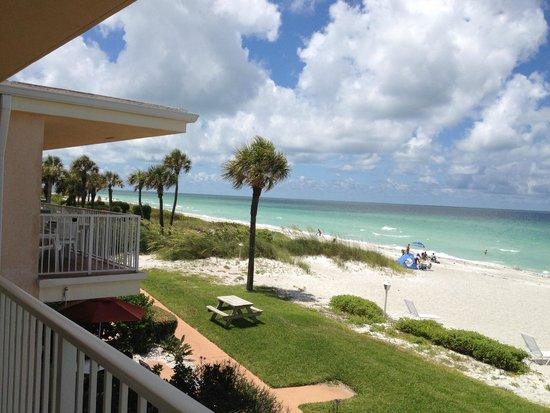 SeaHorse Beach Resort : from balcony looking sw