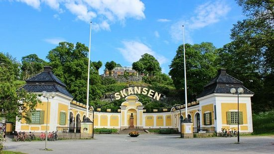 Kungliga Djurgarden: entrance to Skansen
