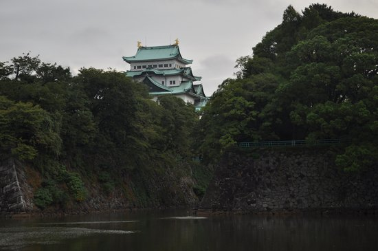 Nagoya Castle : view from the moat
