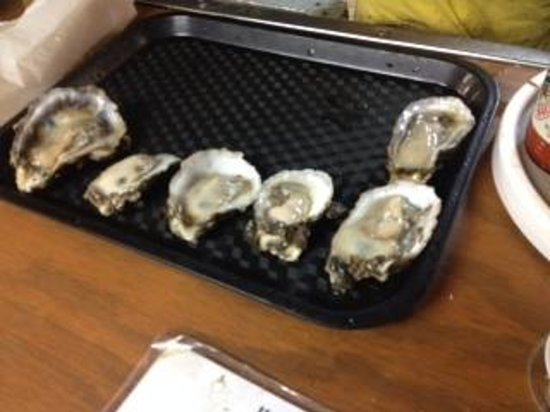 Hunt's Oyster Bar & Seafood Restaurant : Fresh oysters
