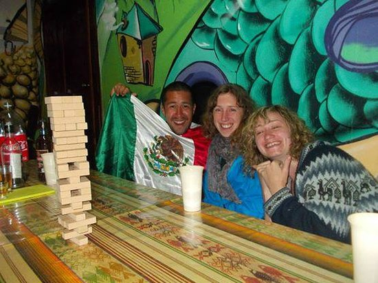 Killa Wasi Hostel: Playing Jenga and Drinking Rum at Killa Wasi