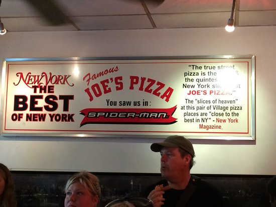 Foods of New York Tours: Delicious pizza