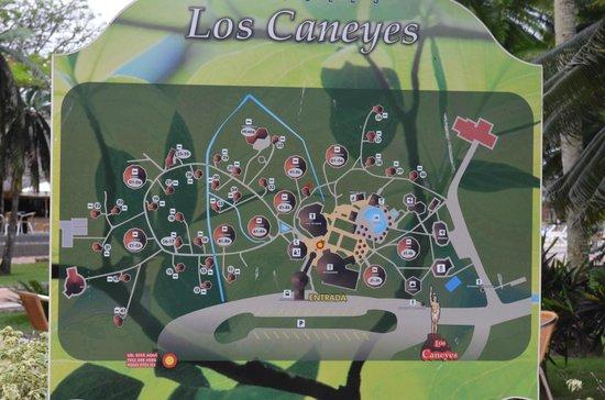 Hotel Los Caneyes: MAPA