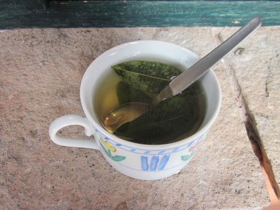 Kuychi Rumi: Coca tea to help with acclimation to the altitude