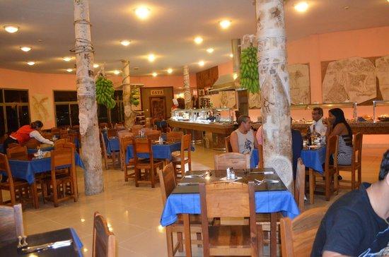 Hotel Los Caneyes: COMEDOR