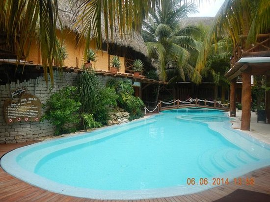 Mandarina Restaurant & Beach club by Casa Las Tortugas: pool area