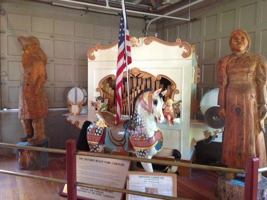 Ontario Beach Park - carousel organ