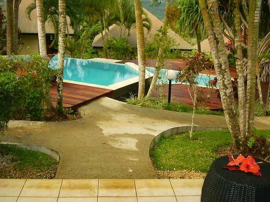 Mangoes Resort: View from room