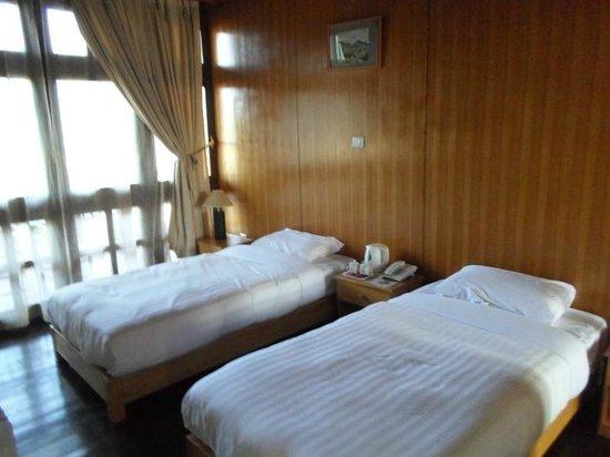 Hotel Ugyen Ling: Comfortable beds
