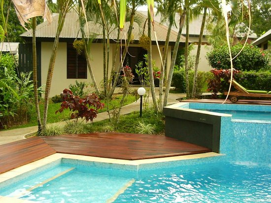 Mangoes Resort: view of unit