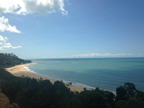 Praia da Pitinga: Vista da praia