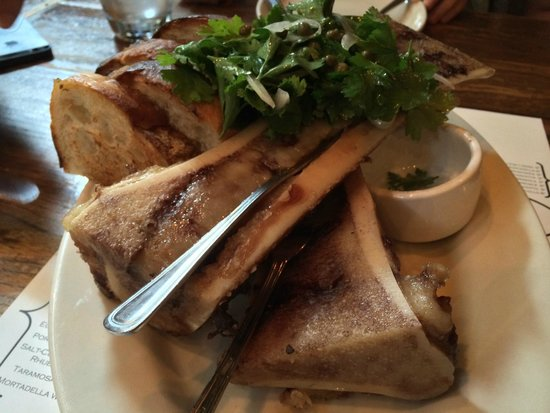The Purple Pig : Bone marrow