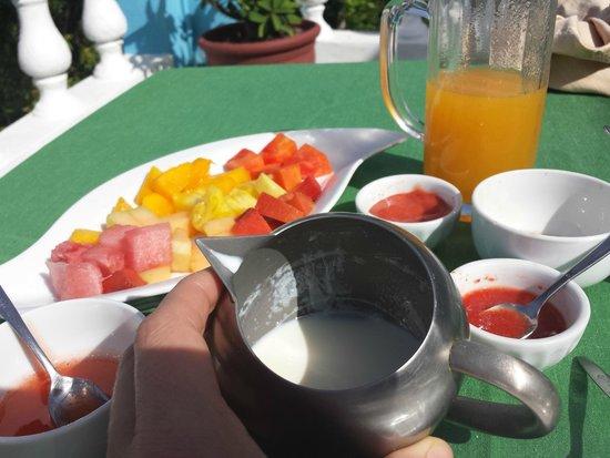 Jasmine Spa and Wellness : Breakfast