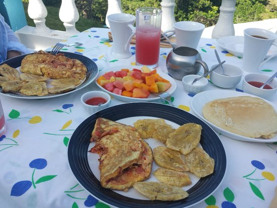 Jasmine Spa and Wellness : Amazing Breakfast