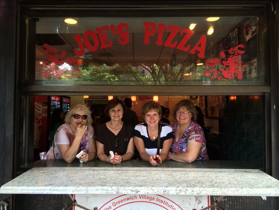 Foods of New York Tours: Good friends, good food