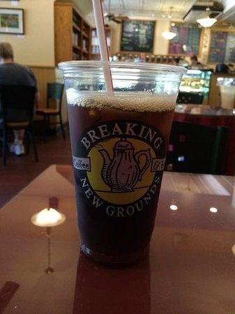 Breaking New Grounds: refreshing brew