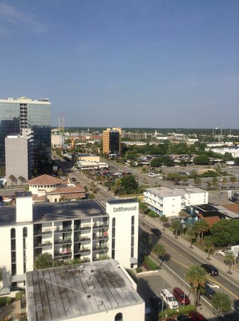 Roxanne Towers: view out the bedroom window 2