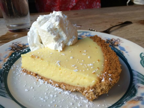 Peter Luger Steak House : Key Lime Pie