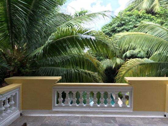 The Pavilion : Poolview deluxe balcony