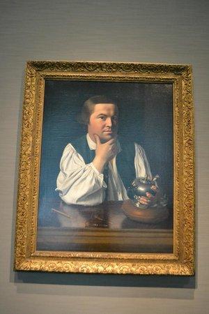 Museum of Fine Arts: Copley's Paul Revere