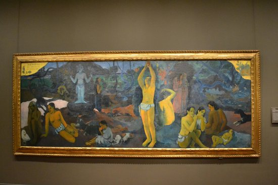 Museum of Fine Arts: Gaugin - Where do we come from? What are we? Where are we going?