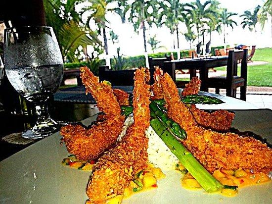 NASU Restaurant: Caribbean Style Jumbo Shrimp
