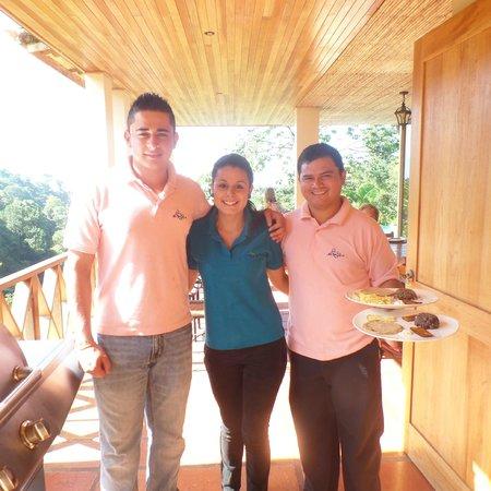 Rio Magnolia Nature Lodge: wonderful staff