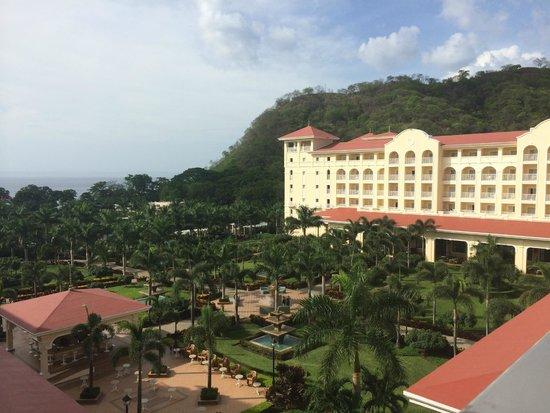 Hotel Riu Guanacaste: View from 4th floor ocean view room