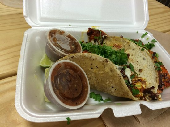 The Tamale Place: Fish Tacos