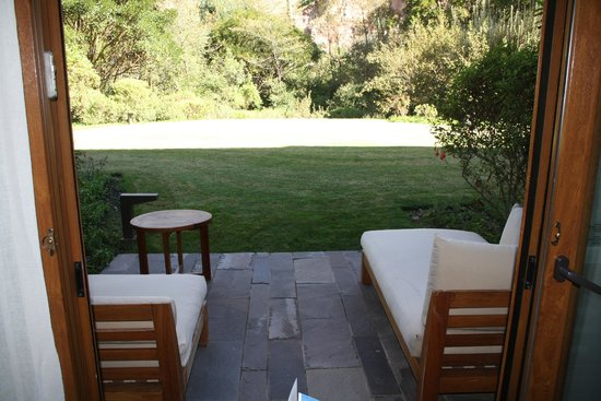 Tambo del Inka, A Luxury Collection Resort & Spa, Valle Sagrado: Our patio.