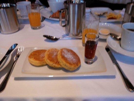 Tambo del Inka, a Luxury Collection Resort & Spa: Quinoa pancakes for breakfast